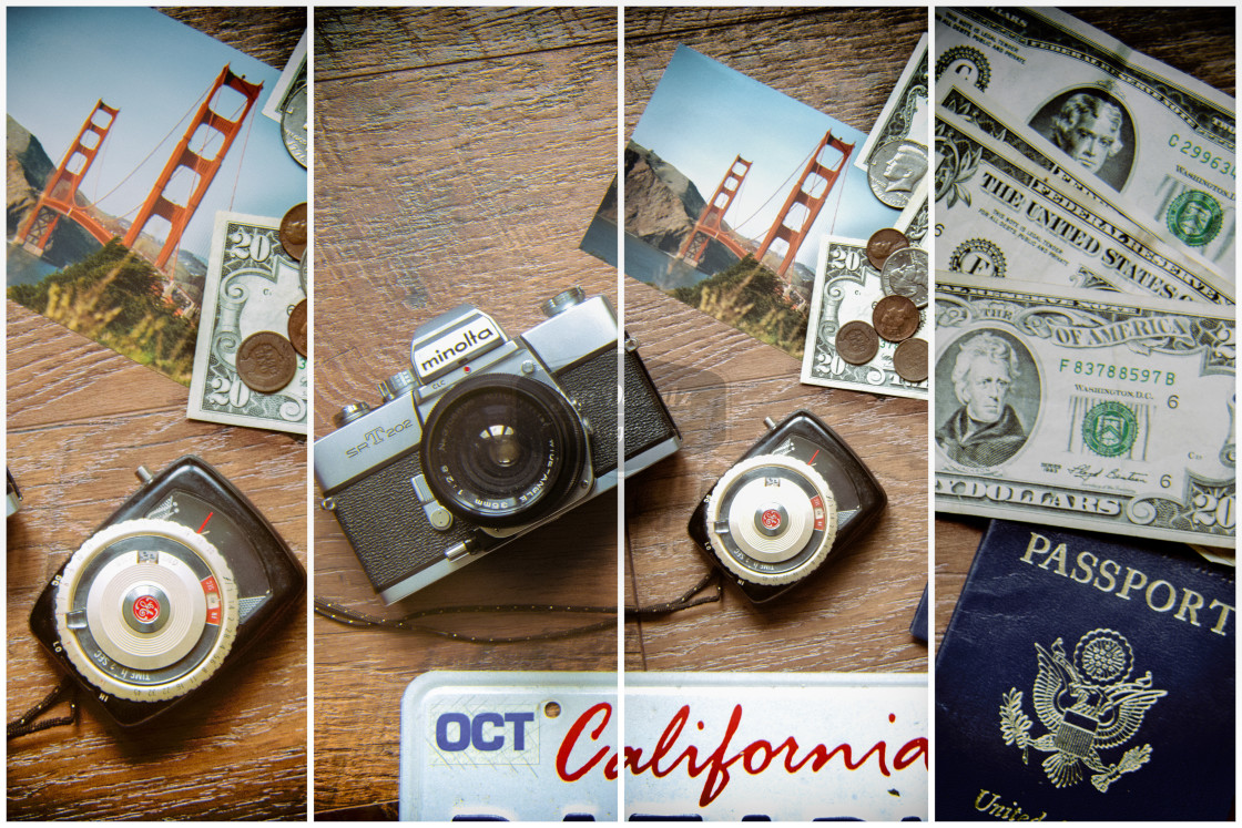 """Travel to California"" stock image"