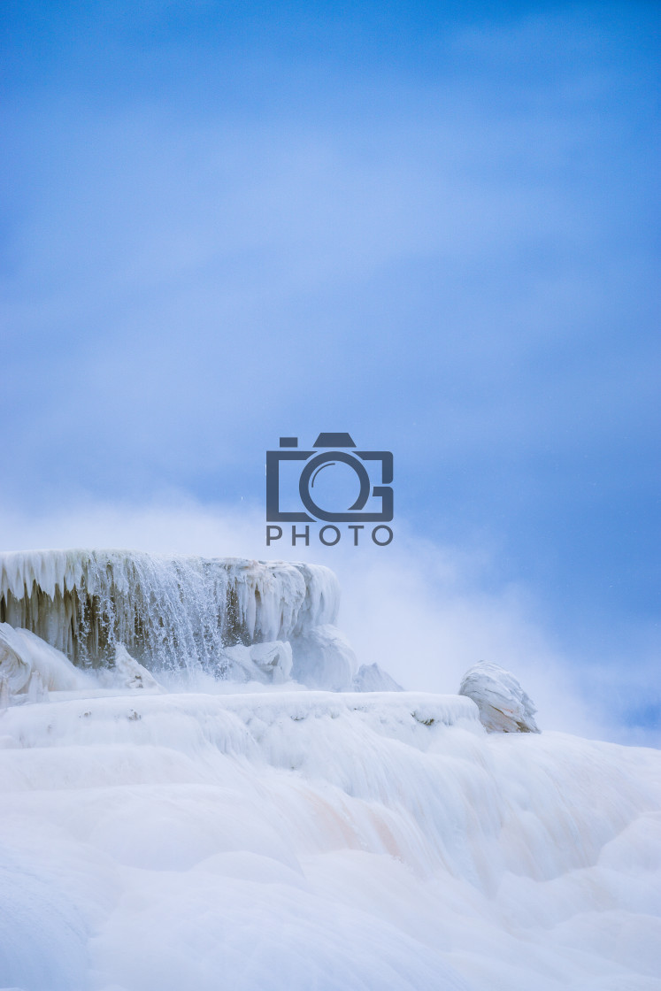 """Mammoth Hot Springs"" stock image"