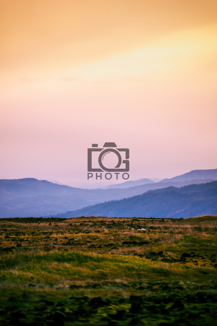 """Table Rock Oregon"" stock image"