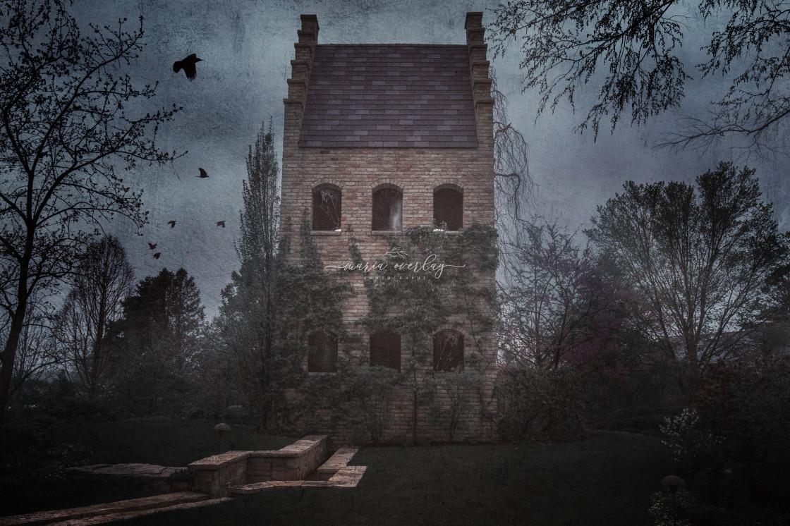 """Haunted House"" stock image"