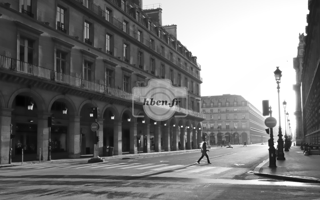 """Rivoli street"" stock image"