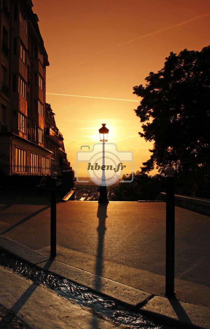 """Parisian gutter"" stock image"