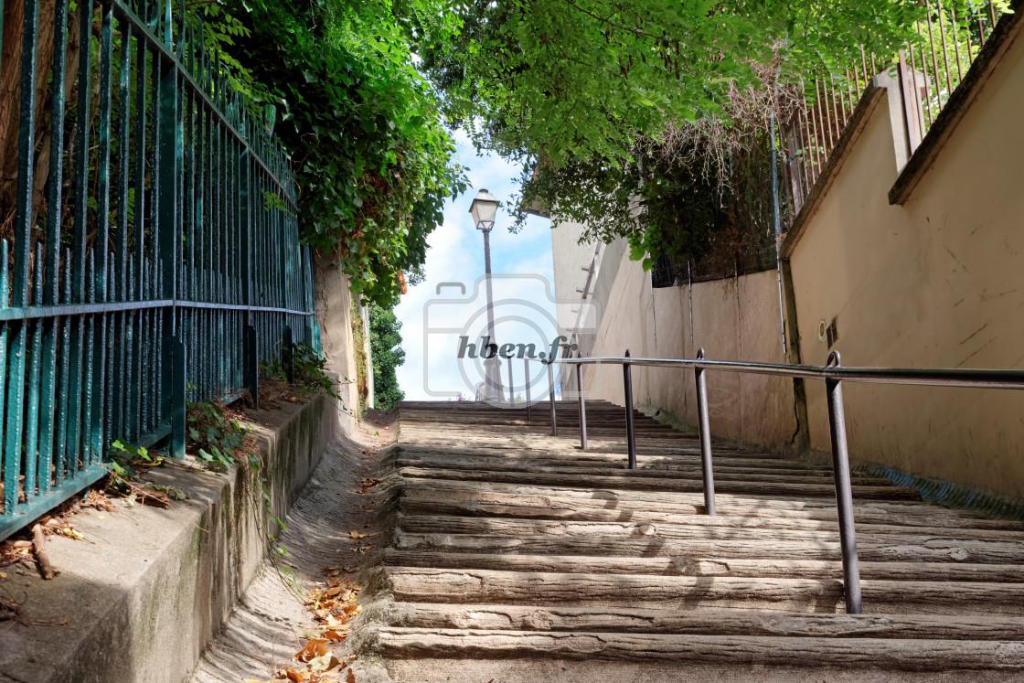 """""""Paris stairs"""" stock image"""