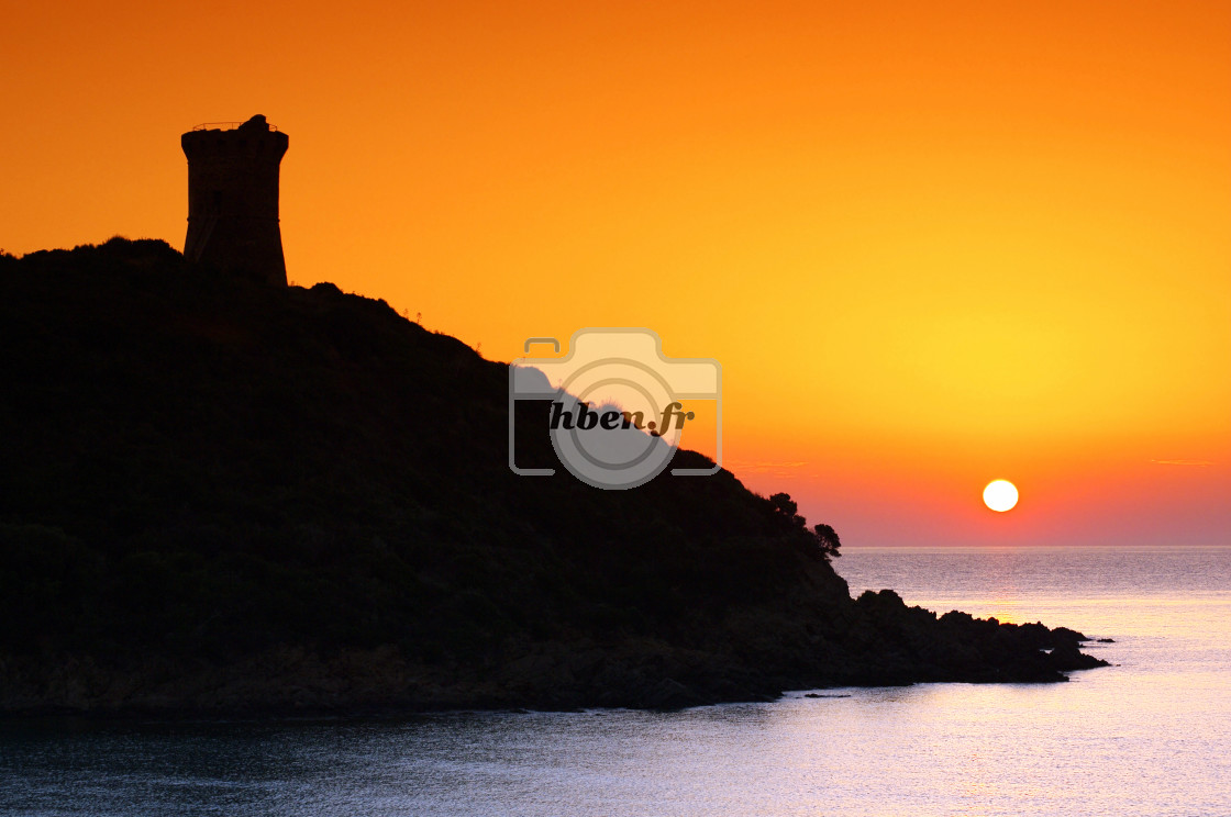 """Genoese tower"" stock image"