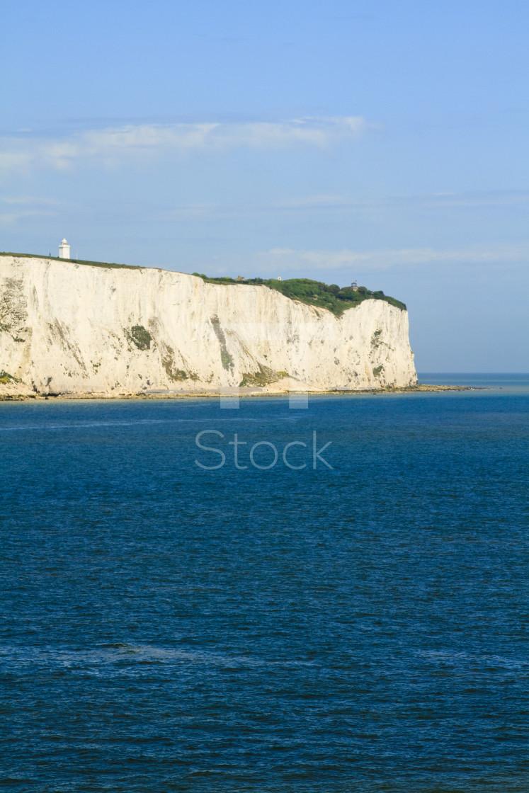 """White cliffs of Dover"" stock image"