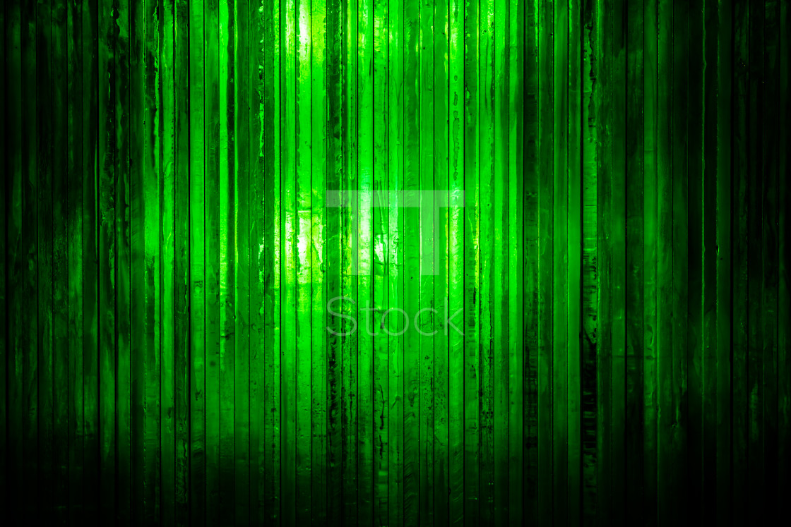"""Thick bright green glass with light shining through from the bac"" stock image"