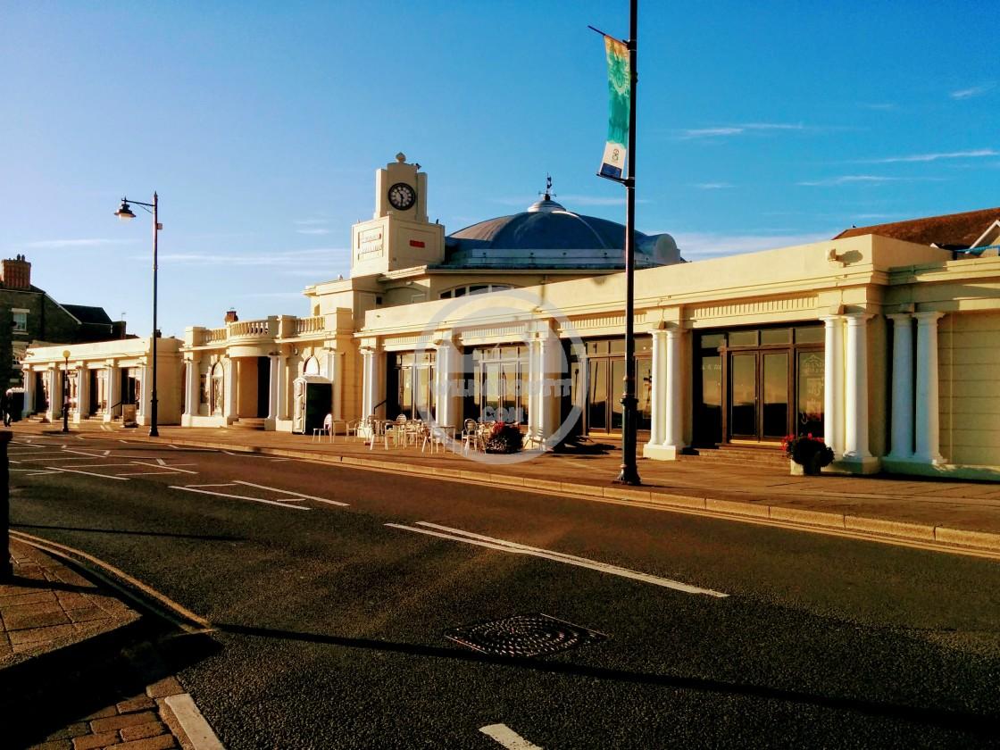 """Porthcawl Pavilion"" stock image"