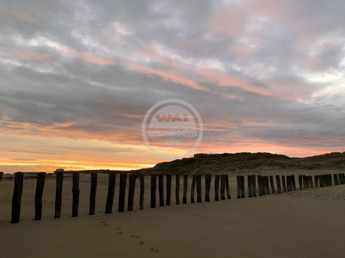 """""""Calais Beach"""" stock image"""
