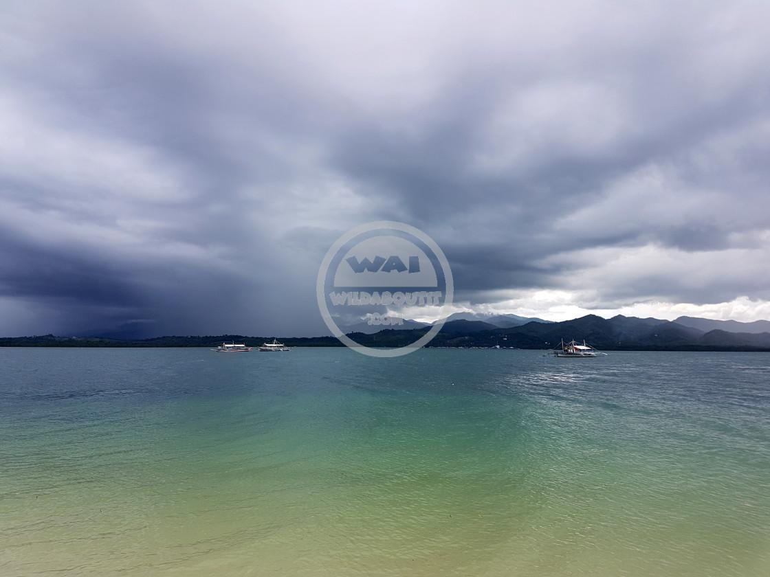 """Sulu Sea"" stock image"