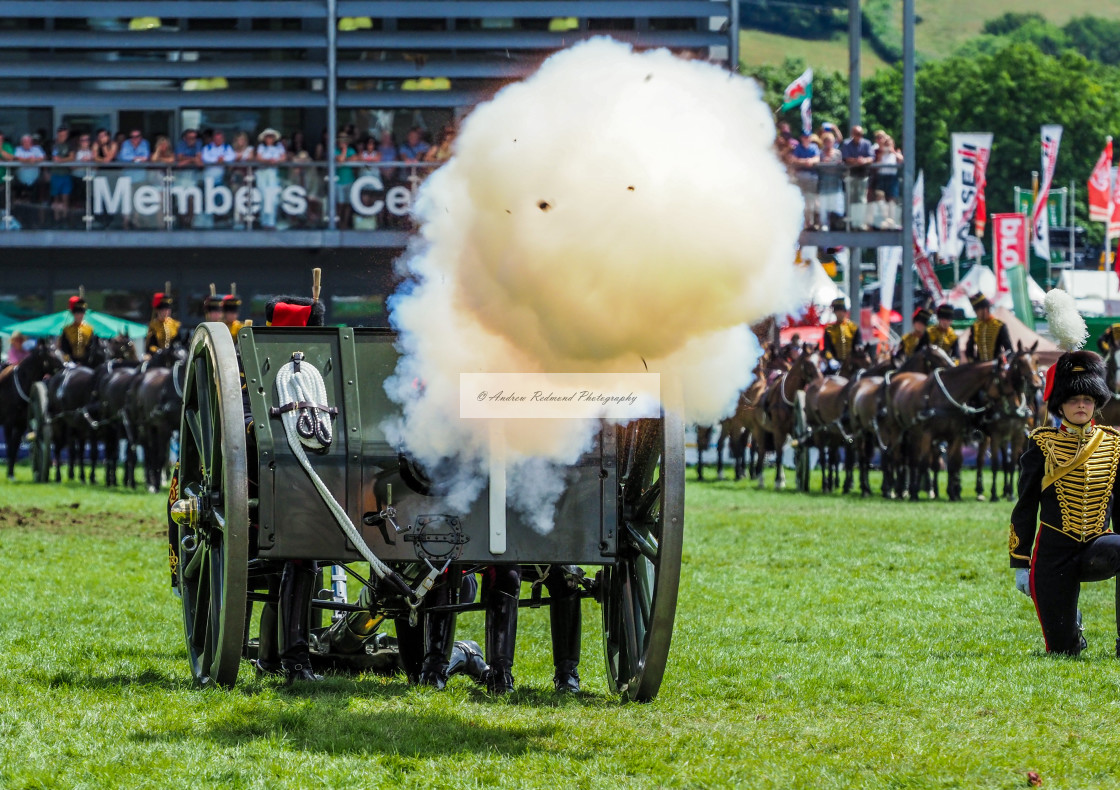 """""""Cannon Fire"""" stock image"""