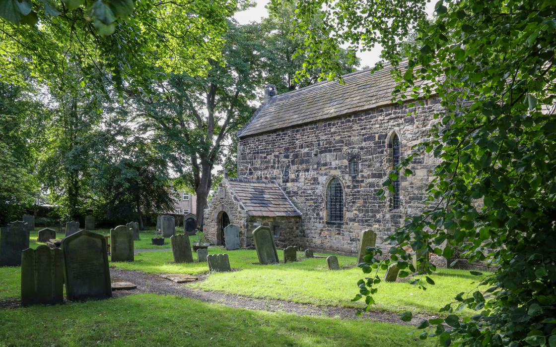 """Saxon Church"" stock image"