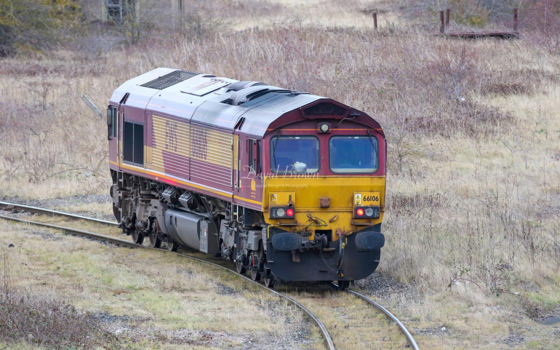 """""""66106 at Tees Yard"""" stock image"""