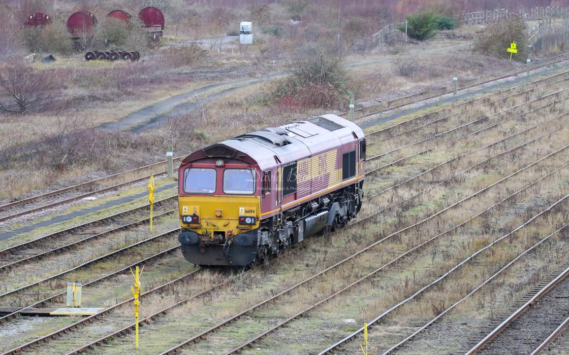 """""""66194 at Tees Yard"""" stock image"""