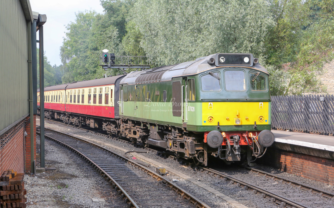 """D7628 at Pickering"" stock image"