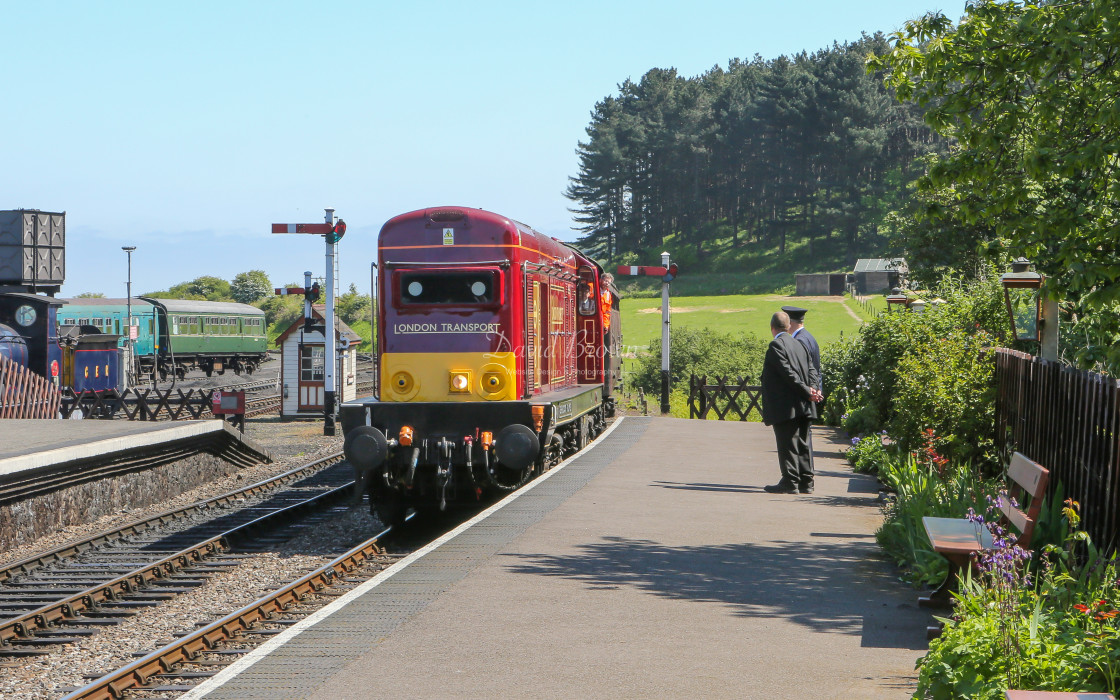 """20227 at Weybourne"" stock image"