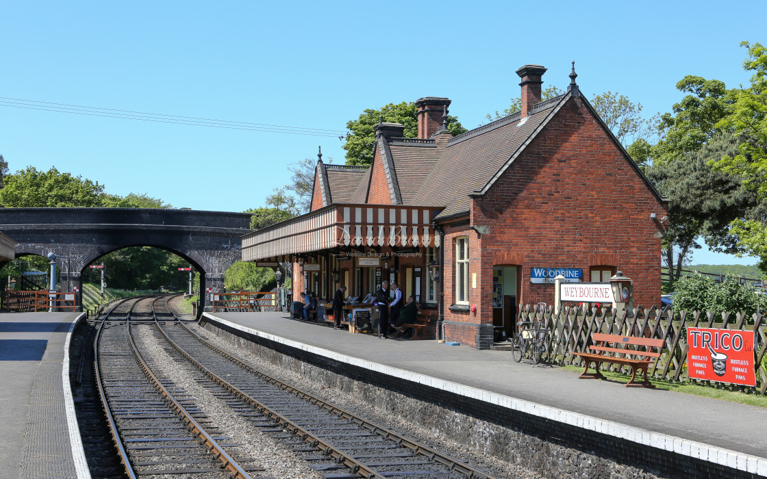 """Weybourne Station"" stock image"