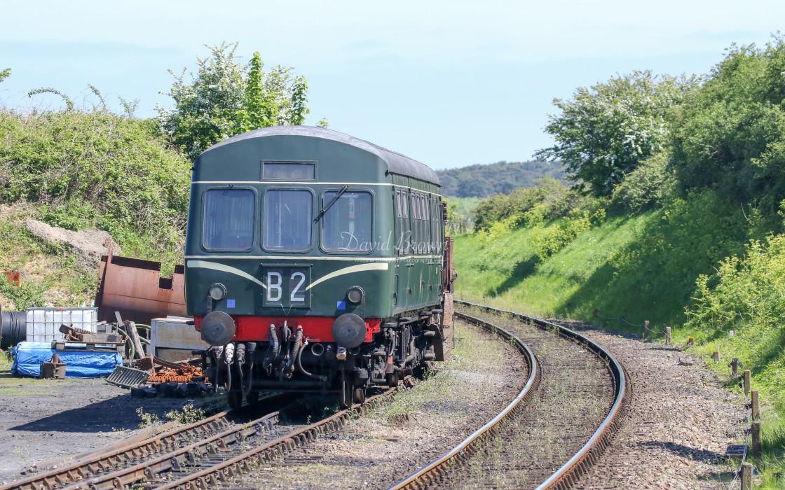 """""""51188 & 56352 at Weybourne"""" stock image"""
