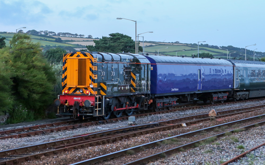 """08410 at Penzance"" stock image"