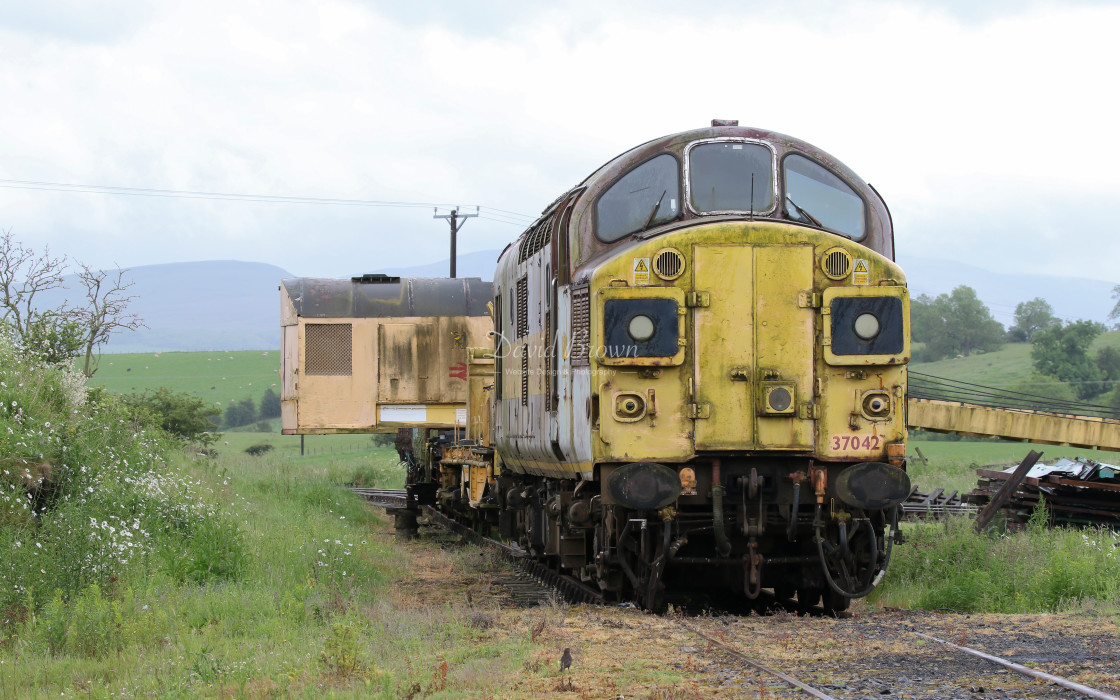 """37042 at Warcop"" stock image"