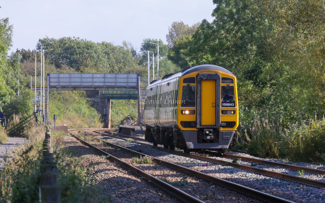 """Class 158"" stock image"