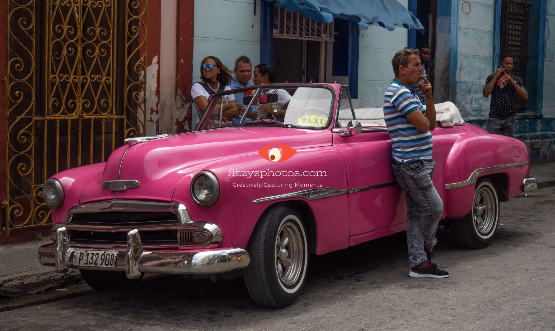 """Classic Cars of Cuba"" stock image"