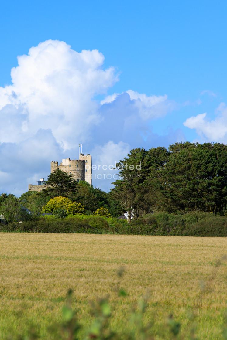 """""""Roch Castle"""" stock image"""