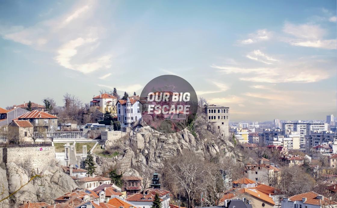 """Moutain Homes Plovdiv, Bulgaria"" stock image"