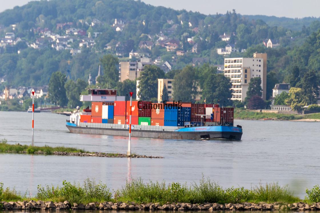 """Rhine river"" stock image"