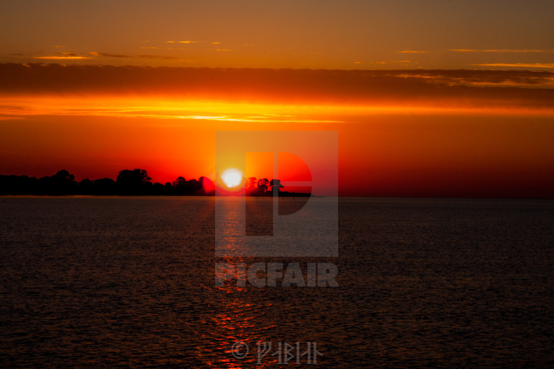 """sunset 3"" stock image"