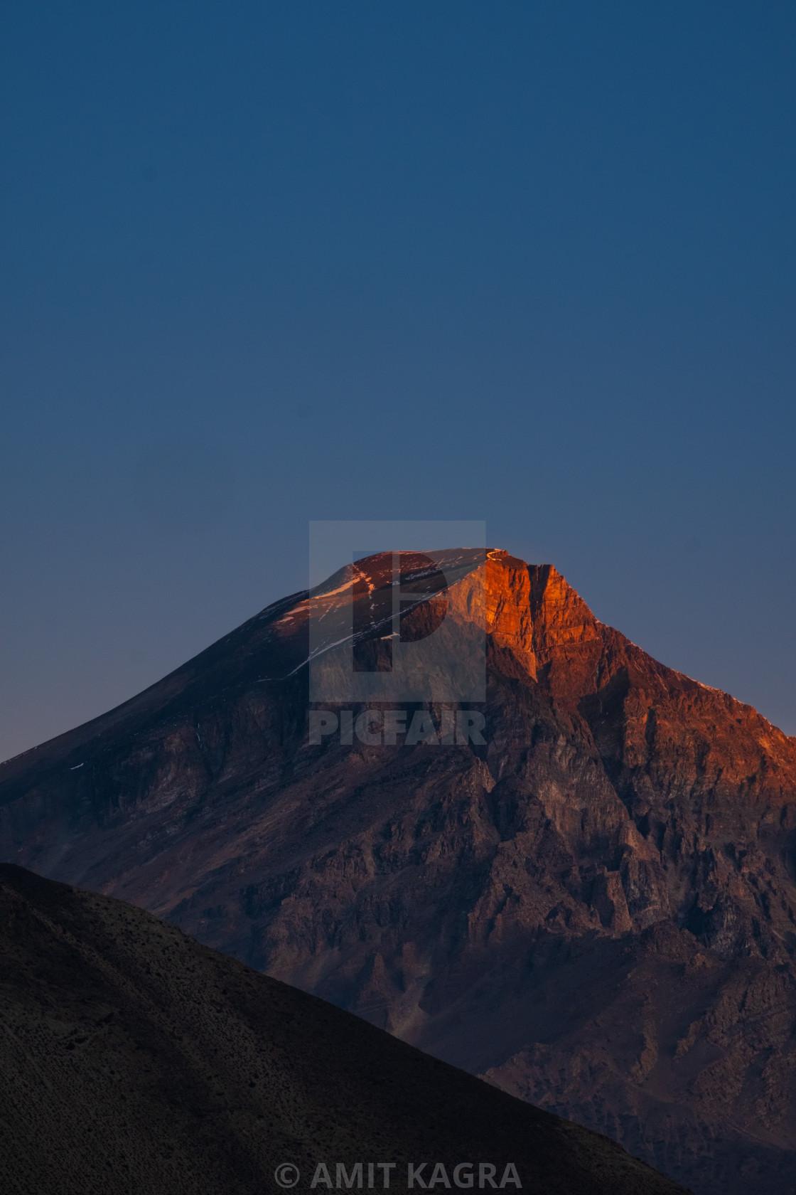 """""""Dawn in Nepal"""" stock image"""