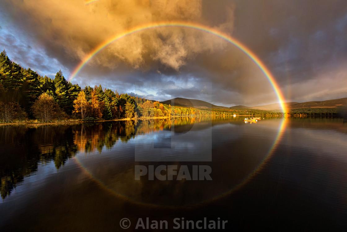 """Rainbow reflections"" stock image"