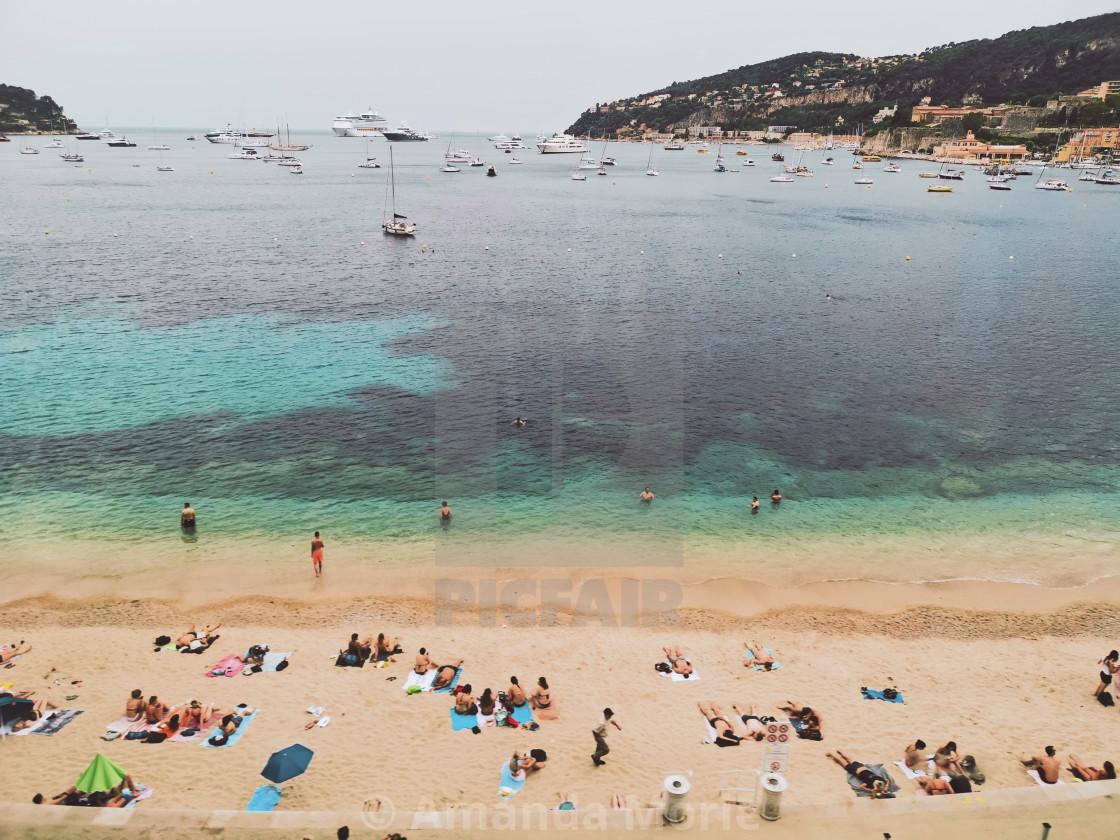 """Villefranche Sur Mer"" stock image"