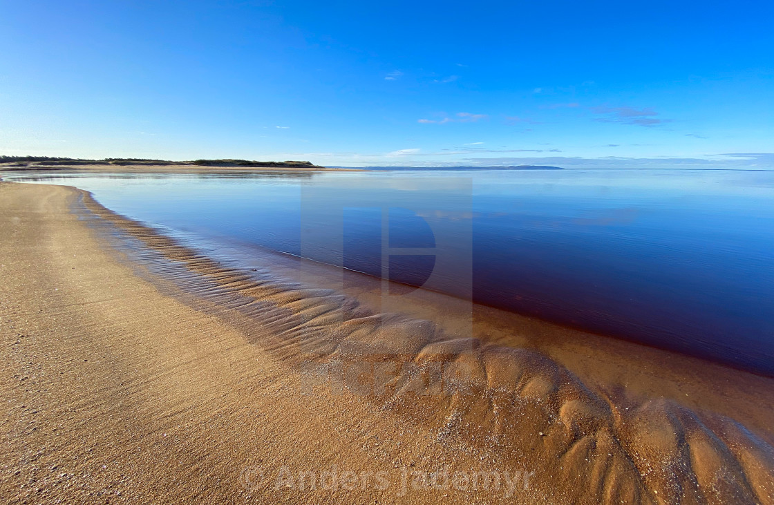 """Calm Blue Sea"" stock image"