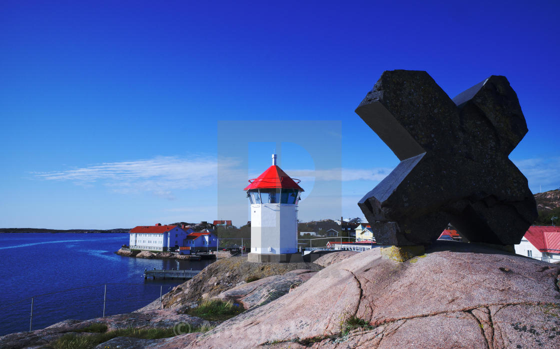 """""""Small Lighthouse"""" stock image"""