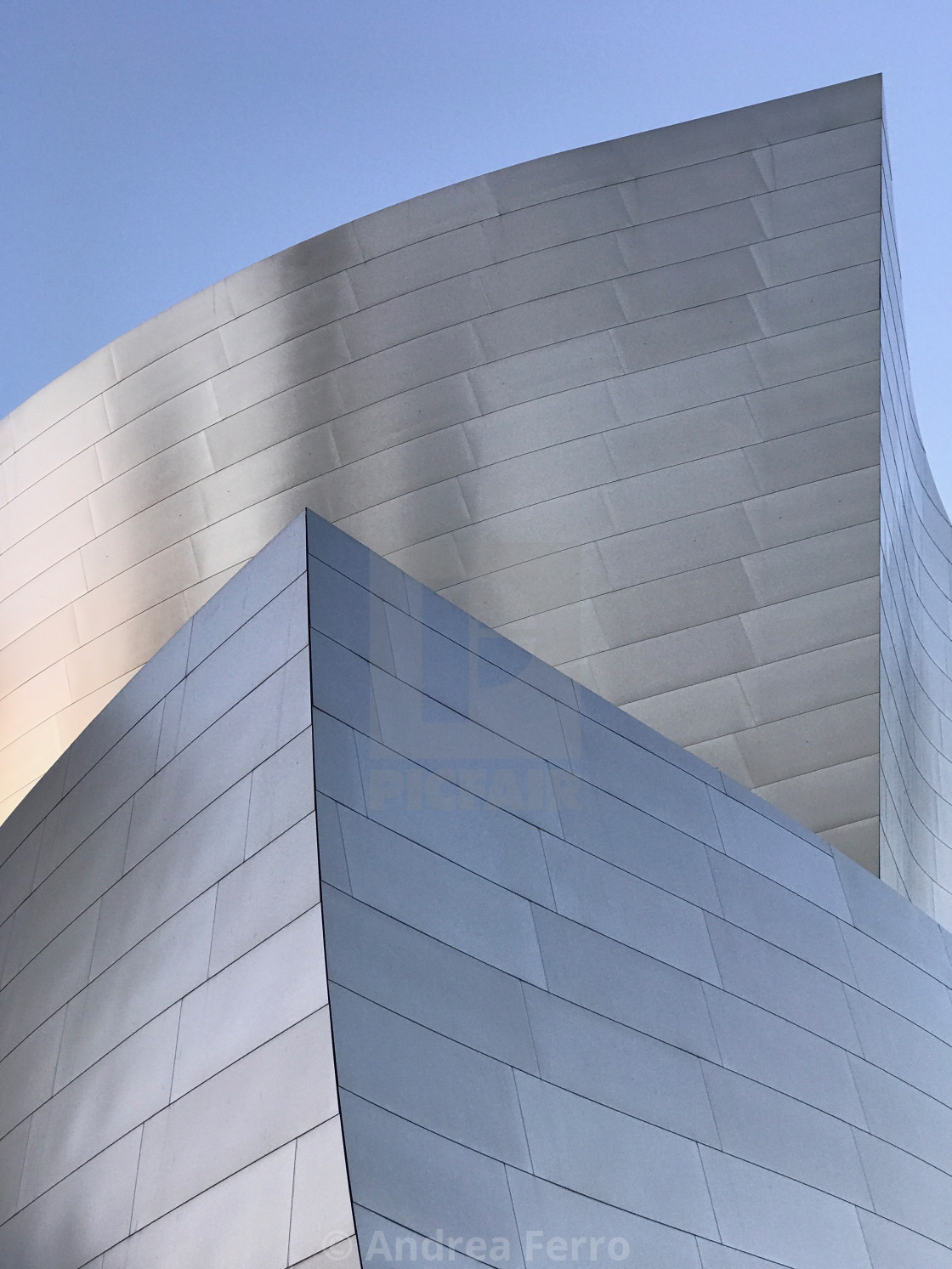 """The Walt Disney Concert Hall, Los Angeles California"" stock image"
