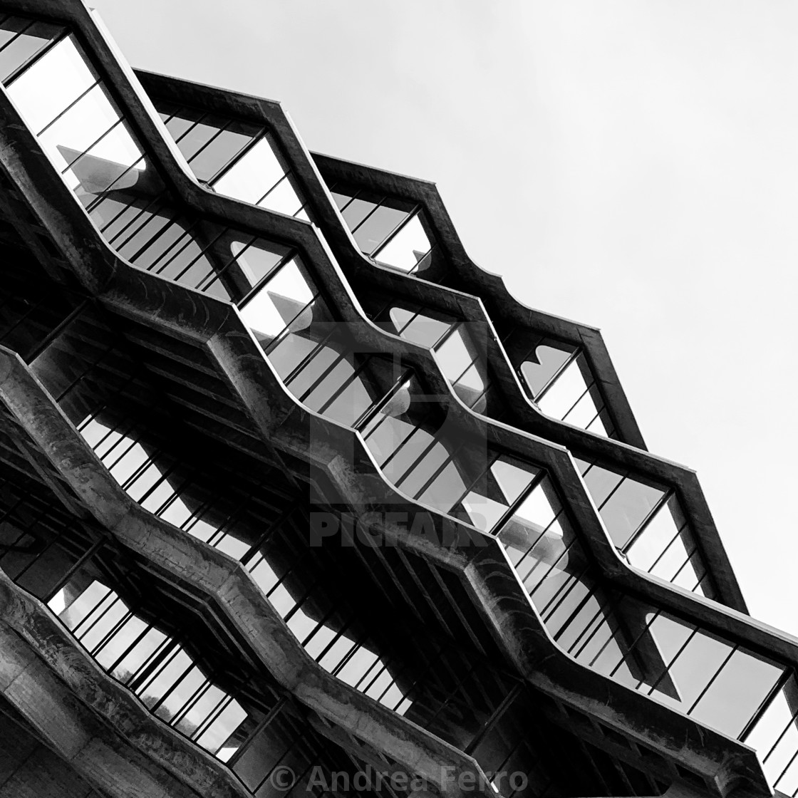 """Geisel Library, UC San Diego - California"" stock image"