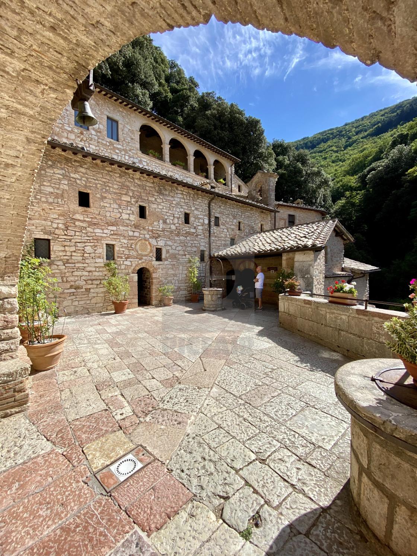 """""""Eremo delle Carceri, Assisi - Italy."""" stock image"""
