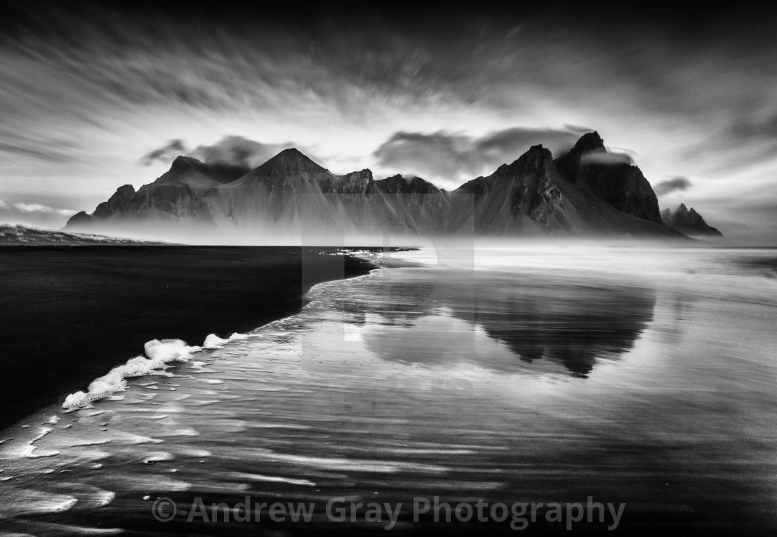 """Vestrahorn Mountain Iceland"" stock image"