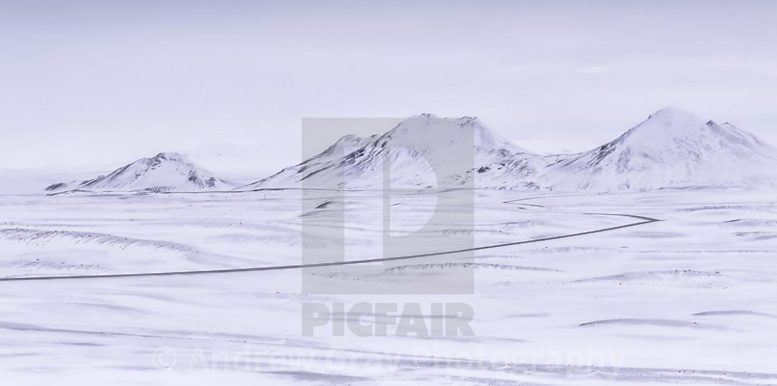 """""""Frozen Frontier"""" stock image"""