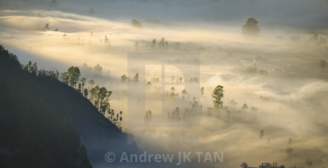 """View from Pinggan Viewpoint 04"" stock image"