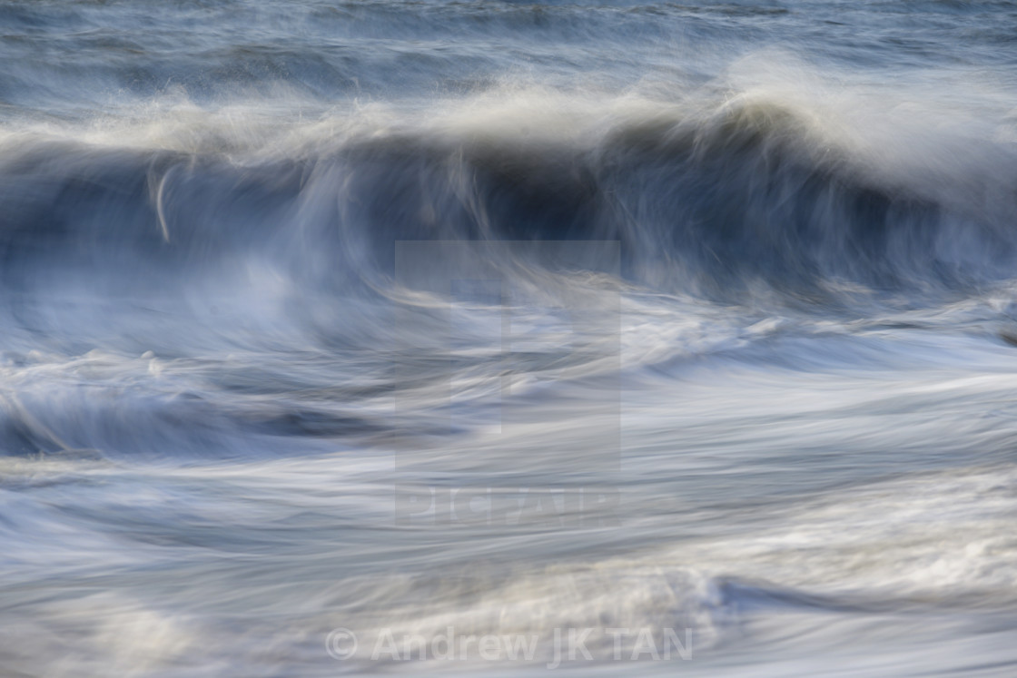 """""""Waves Abtract 01"""" stock image"""
