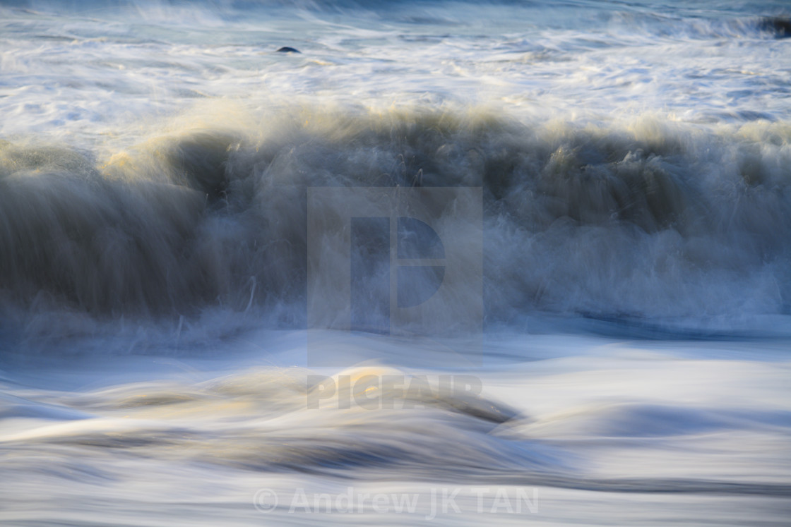 """Waves Abtract 02"" stock image"
