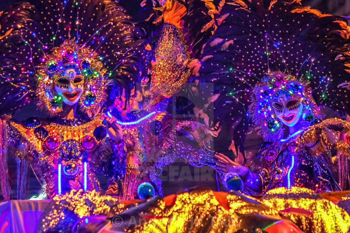 """39th Masskara Festival 03"" stock image"