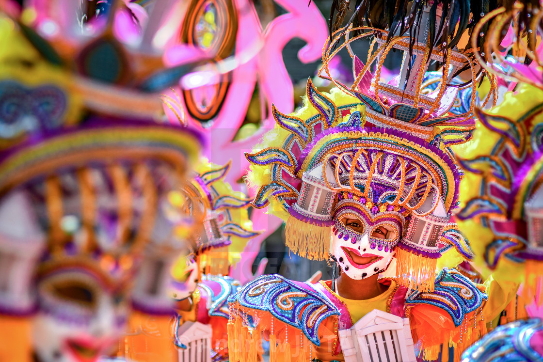 """39th Masskara Festival 02"" stock image"
