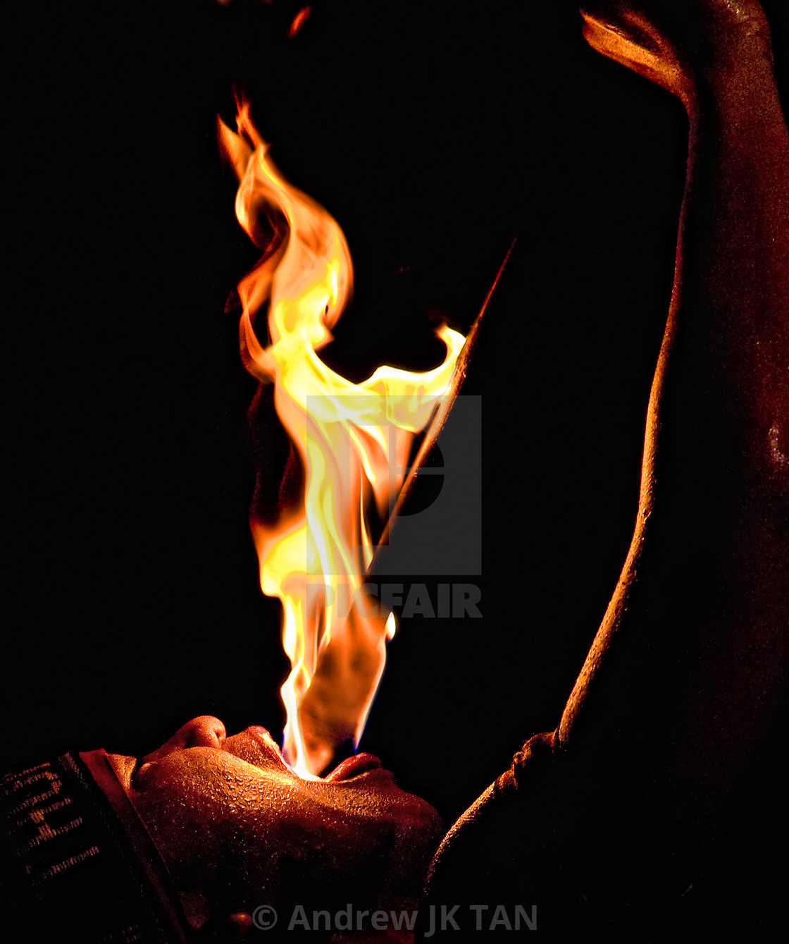 """Fire Eater 01"" stock image"