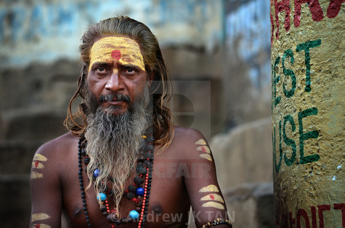 """Saddhu"" stock image"