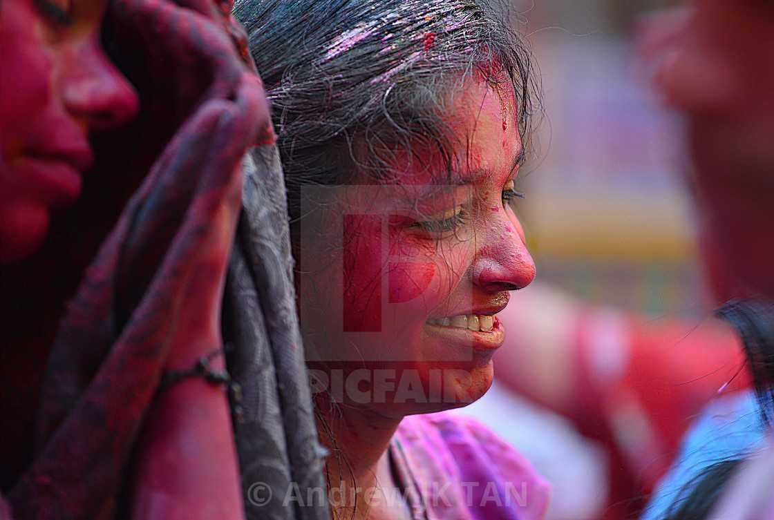 """Colors of HOLI 12"" stock image"