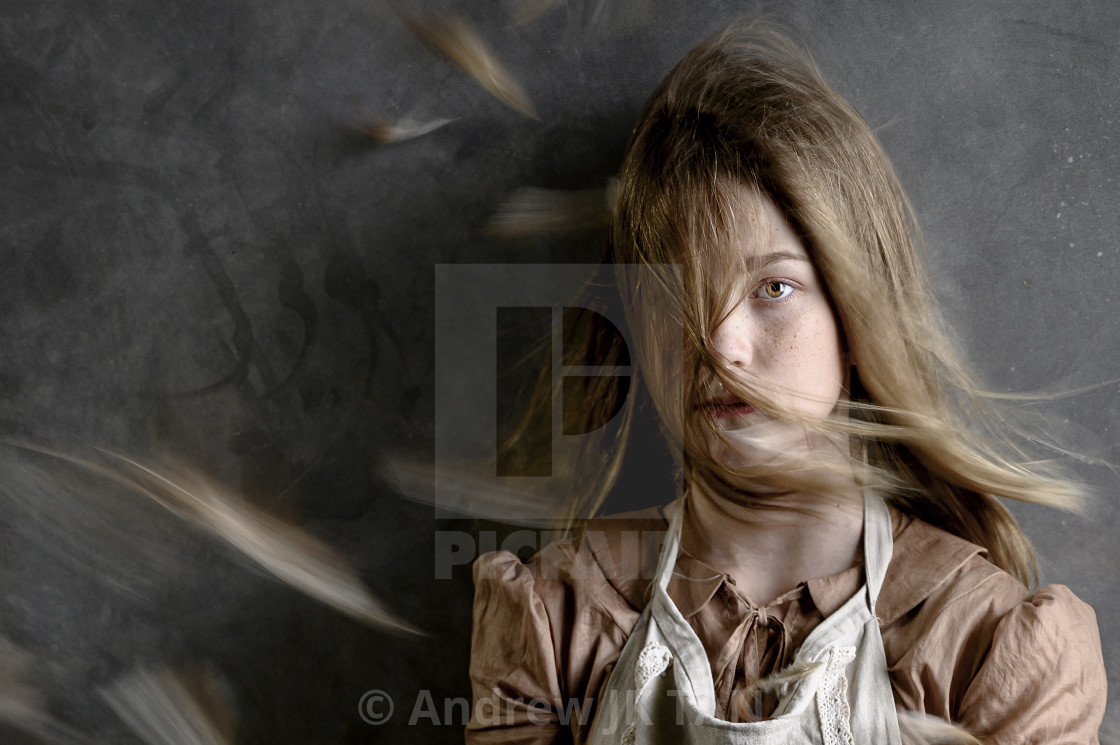 """Wind Blowing"" stock image"