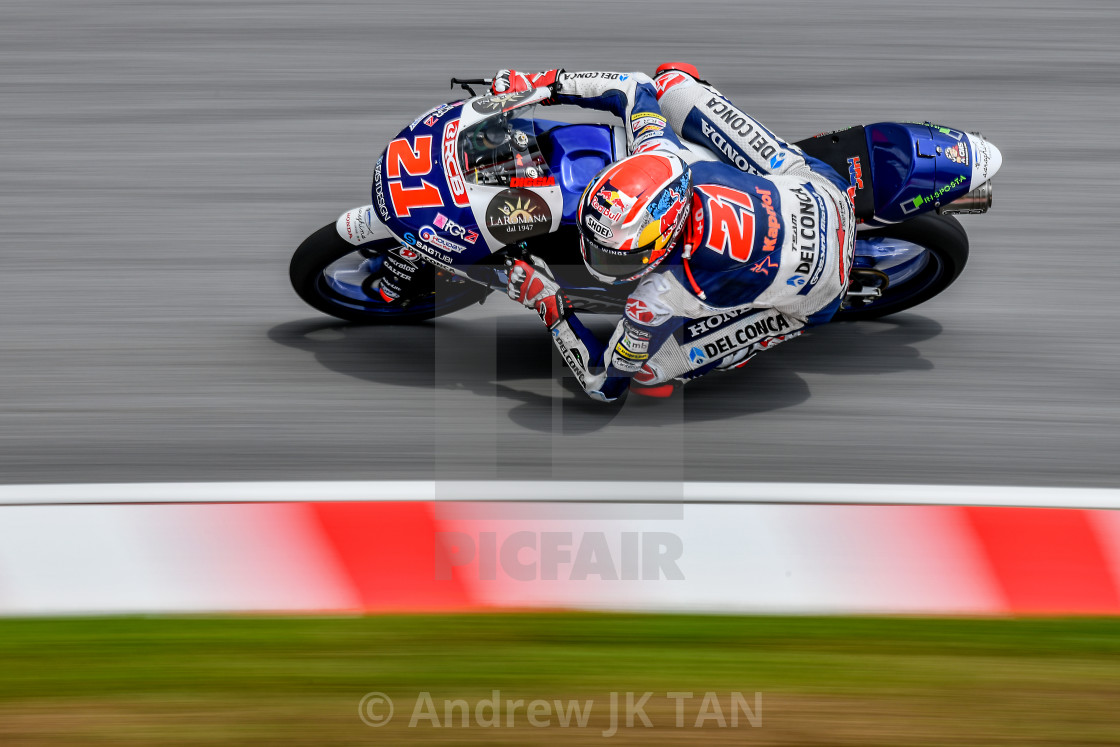 """MotoGP Action 02"" stock image"