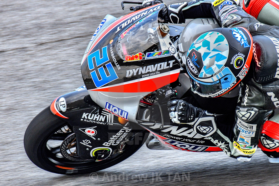 """MotoGP Action 01"" stock image"